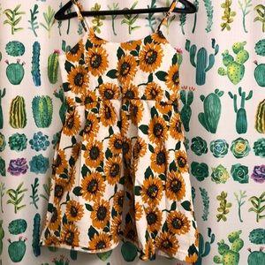 Floral Sunflower Dress